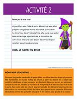 Lettre thématique-Halloween-Les décorations-Activité-2