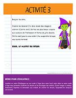 Lettre thématique-Halloween-Les décorations-Activité-3