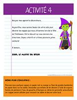 Lettre thématique-Halloween-Les décorations-Activité-4