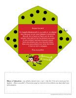 Lettre thématique-Insectes