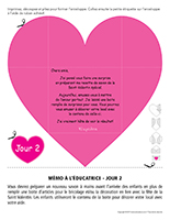 Lettre thématique-La Saint-Valentin Surprises-Jour 2