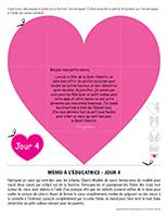 Lettre thématique-La Saint-Valentin Surprises-Jour 4