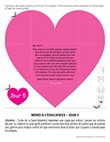 Lettre thématique-La Saint-Valentin Surprises-Jour 5