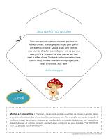 Lettre thématique-La nutrition