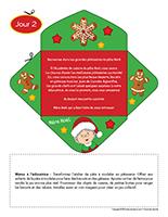 Lettre thematique-Noel-La cuisine-Jour 2