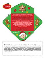 Lettre thematique-Noel-La cuisine-Jour 4