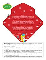 Lettre thématique-Noël Surprises-Jour 1