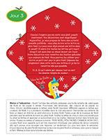 Lettre thématique-Noël Surprises-Jour 3