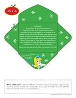 Lettre thématique-Noël Surprises-Jour 4