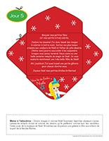 Lettre thématique-Noël Surprises-Jour 5