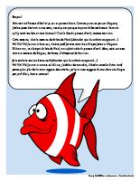 Lettre thématique-poisson d'avril