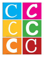 Lettres C en couleurs-1