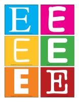 Lettres E en couleurs-1