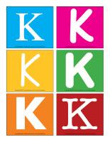Lettres K en couleurs-1
