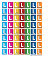 Lettres L miniatures