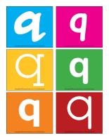 Lettres Q en couleurs-2