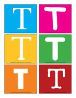 Lettres T en couleurs-1