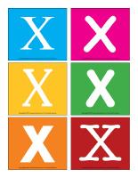 Lettres X en couleurs-1