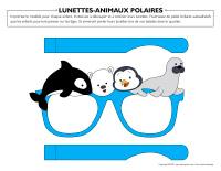 Lunettes-Animaux polaires