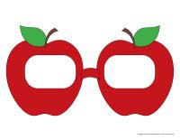 Lunettes de pommes