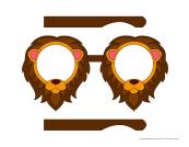 Lunettes-lion