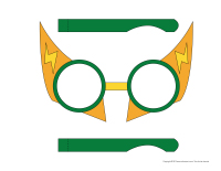 Lunettes-superhéros