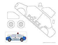 Ma voiture de police miniature
