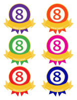 Macarons-Le chiffre 8