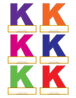 Macarons-Lettre K