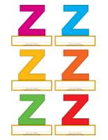 Macarons-Lettre Z