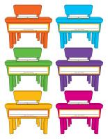 Macarons d'identification-Journée spéciale-maternelle