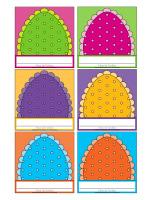 Macarons d'identification-Pâques 2019