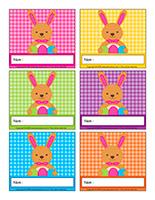 Macarons d'identification-Pâques 2020