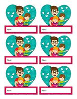 Macarons d'identification interactifs-Fête des Pères 2021