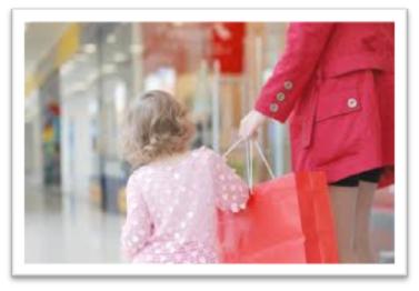 Magasiner avec vos enfants en toute sécurité