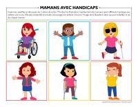 Mamans avec handicaps