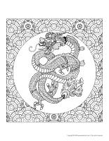 Mandalas-Dragons