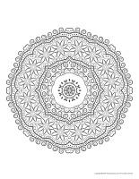 Mandalas-Fête des Mères