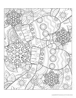 Mandalas-Flocons de neige