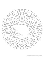 Mandalas-Les castors