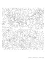 Mandalas-Les libellules