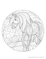 Mandalas-Licornes