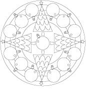 Mandalas-Mon beau sapin