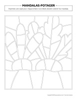 Mandalas-Potager