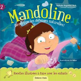 Mandoline 2 bleu