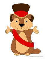 Marionnettes-Jour de la marmotte