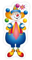 Marionnettes-Juillet multicolore