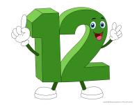 Marionnettes-Le nombre 12