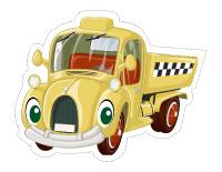 Marionnettes-Le transport routier