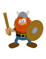 Marionnettes-Les Vikings